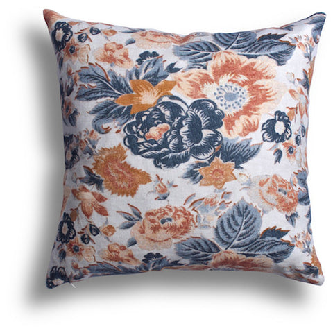 Summer Palace Pillow in Five Spice, 22 x 22 in