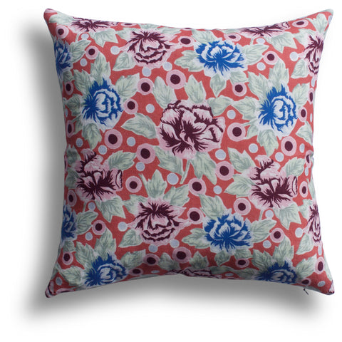 China Rose Pillow in Mai Tai, 18 x 18 in