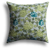 China Rose Pillow in Lemongrass, 22 x 22 in