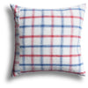 Vintage Homespun Xi'An Pillow, 22 x 22 in