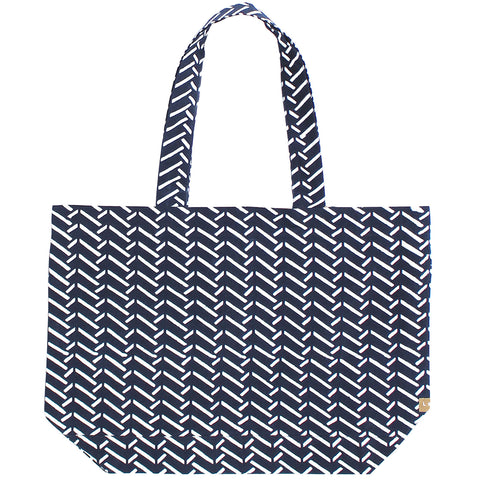 Indigo Chopsticks Tote Bag