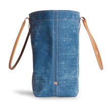 Load image into Gallery viewer, Large Mercantile Tote in Canton Blue
