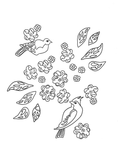 Free Printable Coloring Sheet I (Use Link Below!)