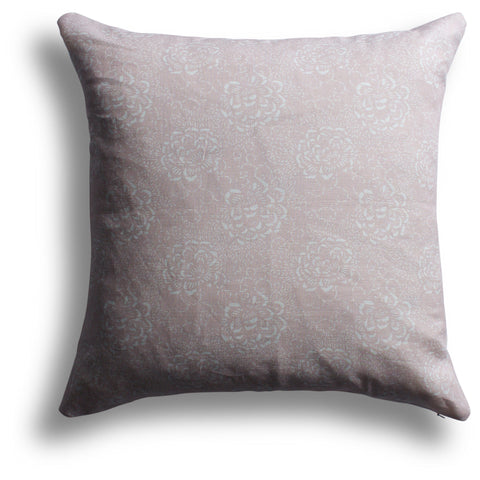 Camellia Pillow in Orchid, 22 x 22 in