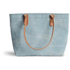 Small Mercantile Tote in Ming Blue