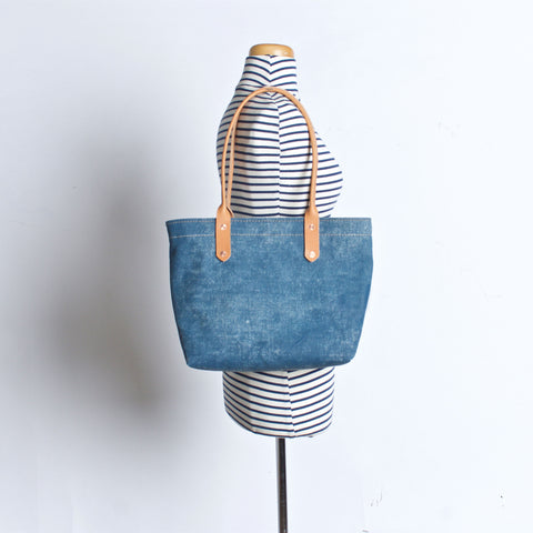 Small Mercantile Tote in Canton Blue
