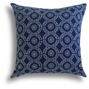 Limited Edition - Indigo Chinois Pillow, 20 x 20 in