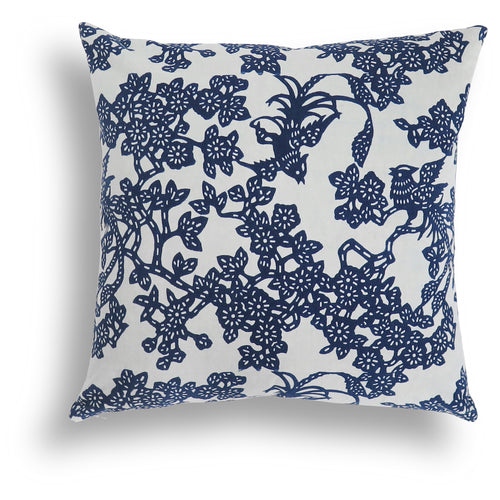Limited Edition - Indigo Feng Pillow, 20 x 20 in