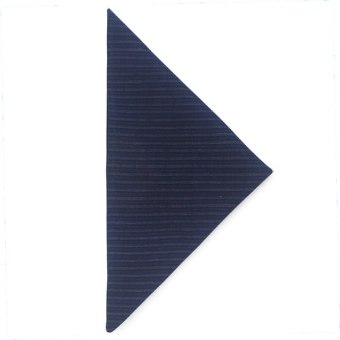 Indigo Stripe Homespun Napkin