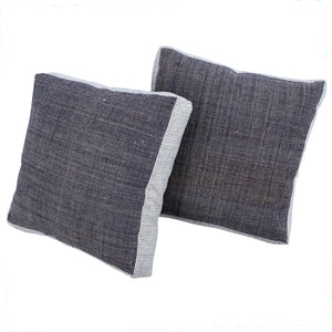 Homespun Gussett Pillow, 20 x 20 in