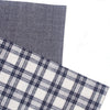Checked Plaid Homespun Table Runner