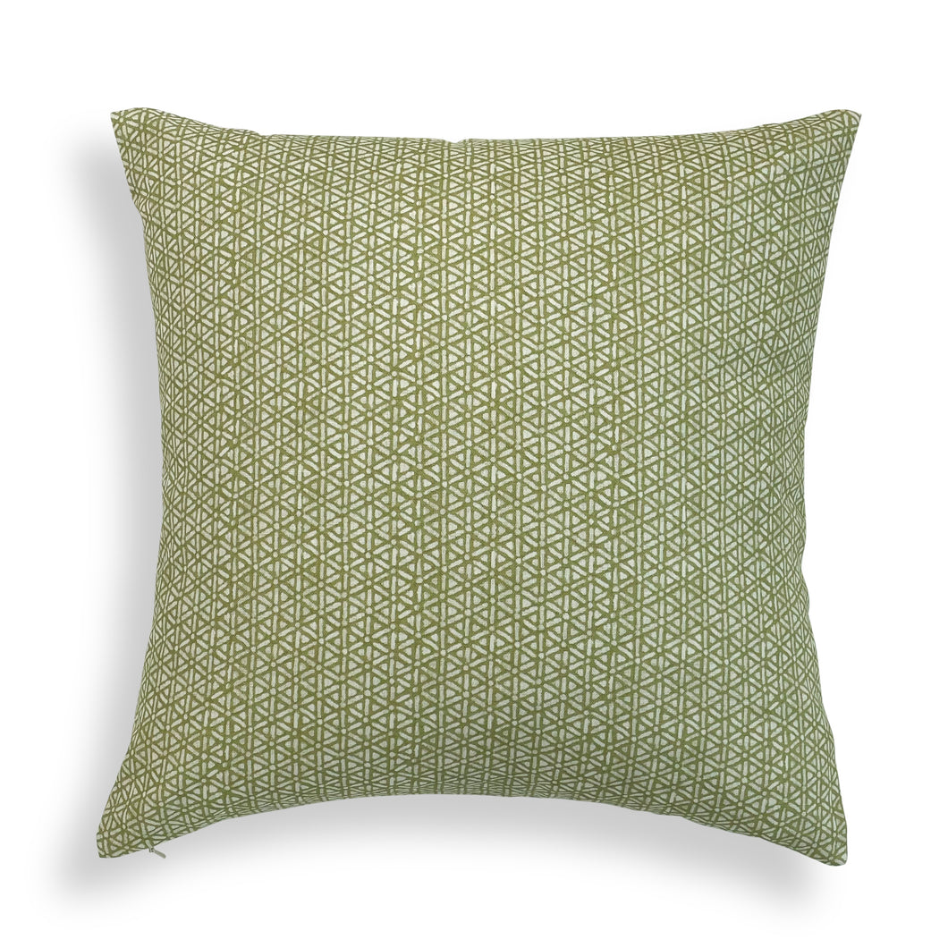 Winnow Pillow - Chartreuse