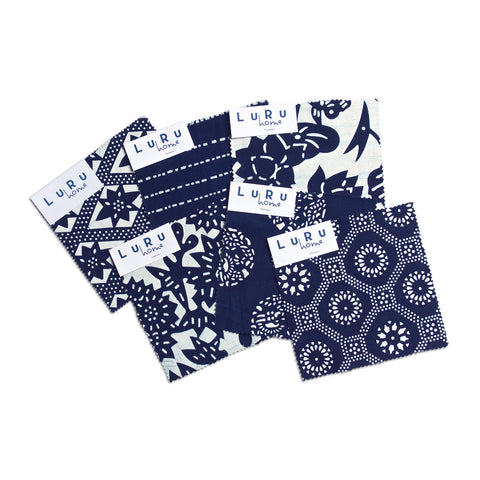 Swatch Set - Nankeen Indigo