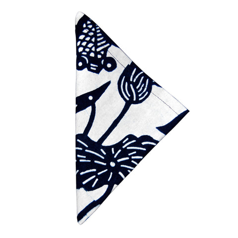 Indigo Fish Bowl Napkin