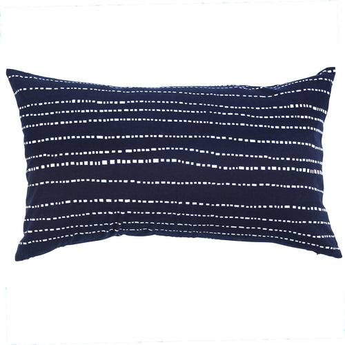 Indigo Babyteeth Pillow, 12 x 20 in