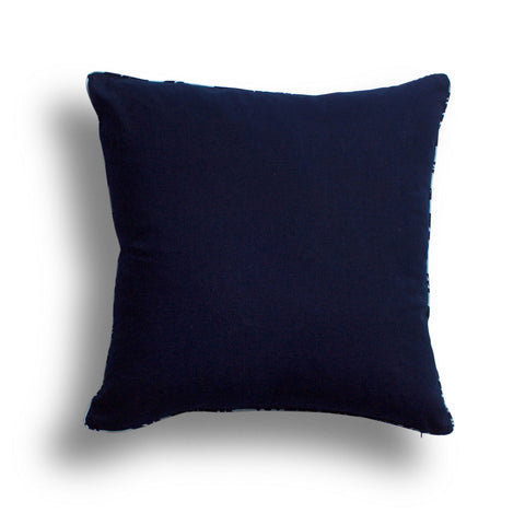 Indigo Pillow, 22 x 22 in