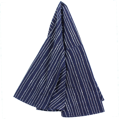 Indigo Babyteeth Tablecloth, 79 in Round