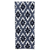 Indigo On the Fence Tea Towel