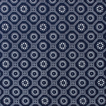 Load image into Gallery viewer, Honeycomb Fabric - Indigo
