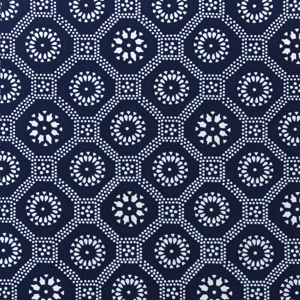 Honeycomb in Indigo