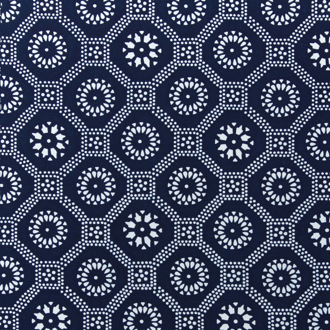 Honeycomb Fabric - Indigo