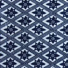 Load image into Gallery viewer, On the Fence Fabric - Indigo