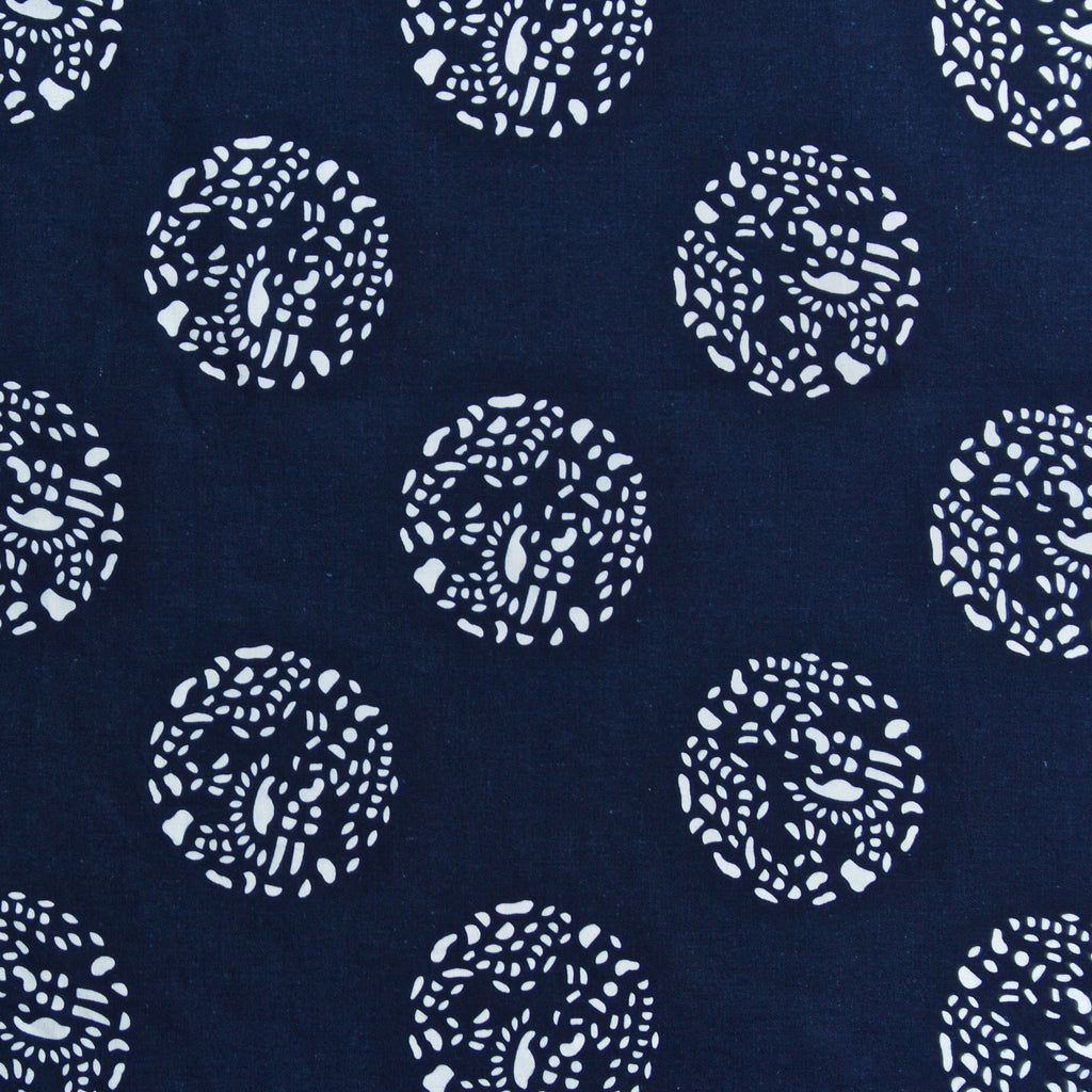Dot Dot Dot in Indigo