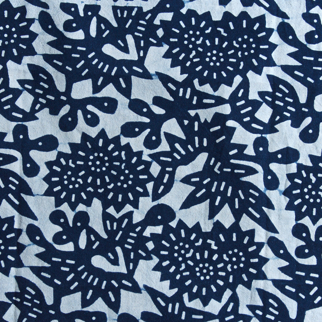 Flower in Indigo