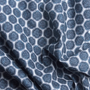 Eternal Knot Fabric - Canal