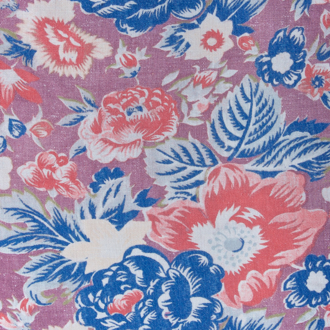 Summer Palace Fabric - Coral