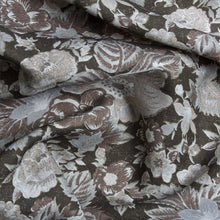Load image into Gallery viewer, Summer Palace Fabric - Black Sesame