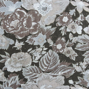 Summer Palace Fabric - Black Sesame