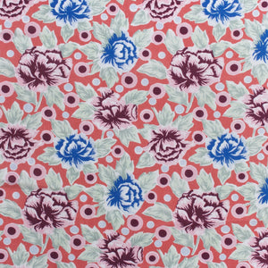 China Rose Fabric - Mai Tai