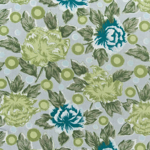 China Rose Fabric - Lemongrass