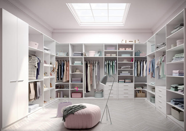 8 Modern Solutions for your Dressing Room