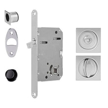 Load image into Gallery viewer, AGB Scivola Tre Square Lock For Pocket Doors. Made in Italy.