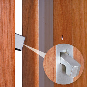 AGB Scivola Tre Square Lock For Pocket Doors. Made in Italy.