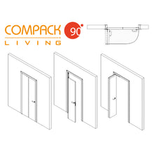 Load image into Gallery viewer, Compack 90 - Folding Door Hardware Set