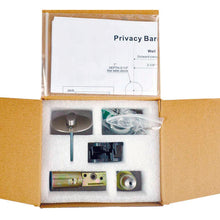 Load image into Gallery viewer, Stainless Steel Privacy Sliding Barn Door Lock