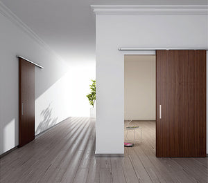 Diva Air - Complete Set Barn Door System for Wood Doors
