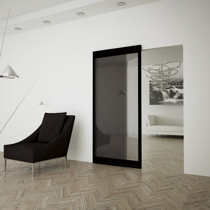 Magic 2 Frame - Concealed Sliding System with Universal Frame Designed For Glass Panels. Made in Italy
