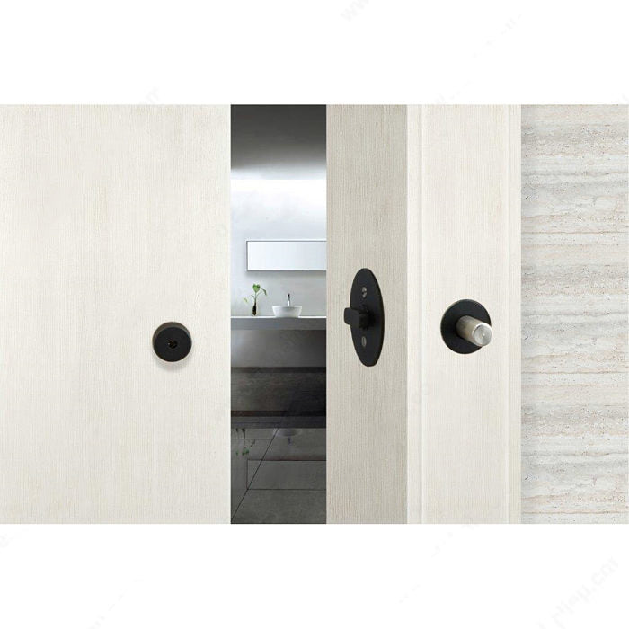 INOX(TM) Privacy Lock for Sliding Barn Door