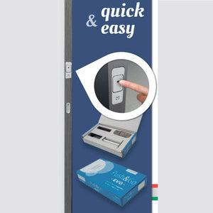 Push&Go Evo - Magnetic Unlocking System for double doors