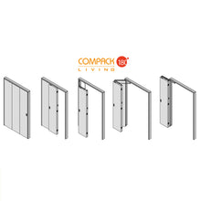 Load image into Gallery viewer, Compack 180 - Tri-Fold Door Hardware Set