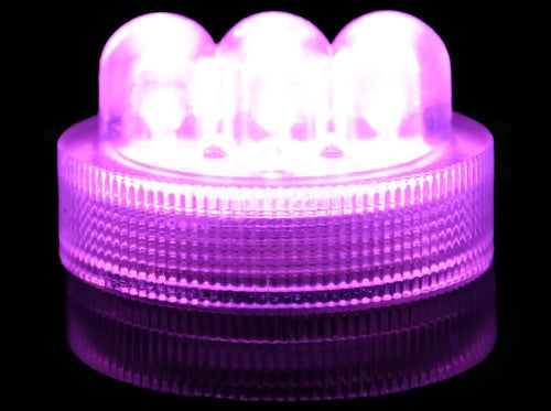 Waterproof Witchs Brew (Purple) 3-LED Coloured Lights