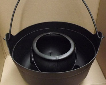 Small Black Plastic Witch's Brew Cauldron