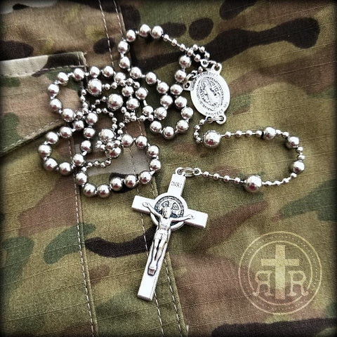 Combat Rosary WWI Battle Beads