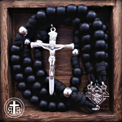 Strong Knights of Columbus Rosary for Men