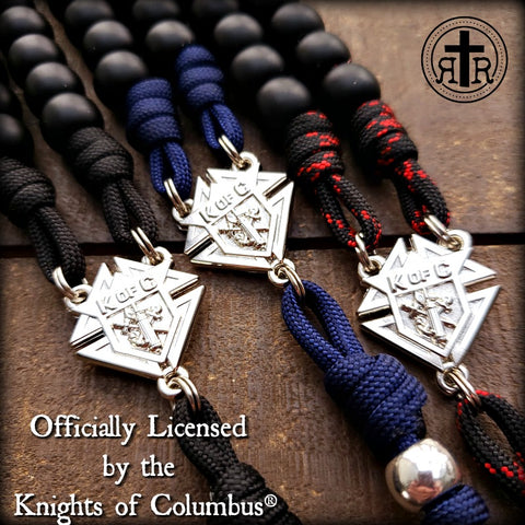 KofC Rosaries in Color Choices