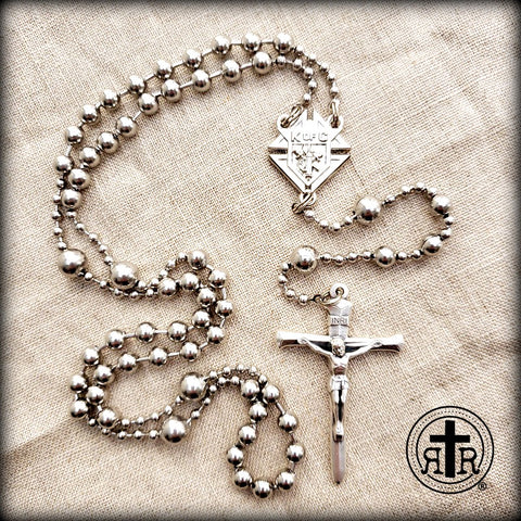 Battle Beads from Rugged Rosaries for Men